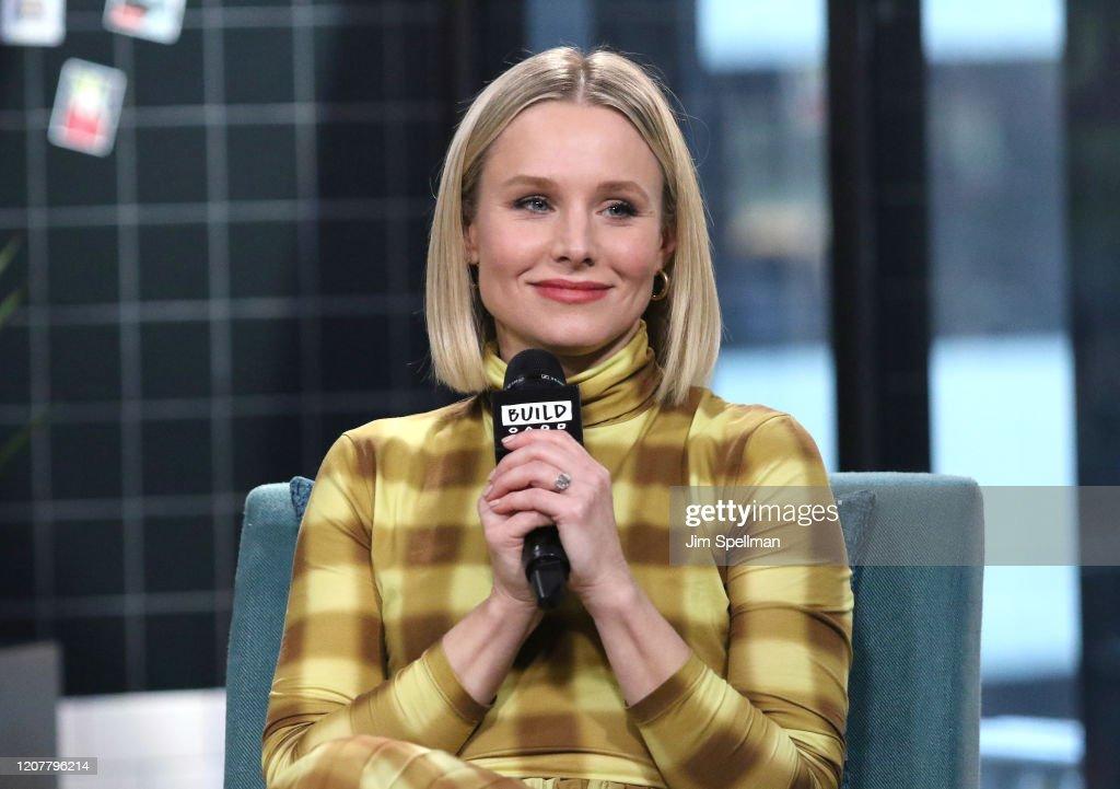 Celebrities Visit Build - February 21, 2020 : Nyhetsfoto