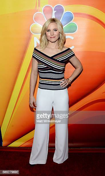 Actress Kristen Bell attends the NBCUniversal press day during the 2016 Summer TCA Tour at The Beverly Hilton Hotel on August 2 2016 in Beverly Hills...