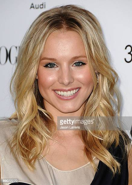 Actress Kristen Bell attends the one year anniversary of the 3.1 Phillip Lim store on July 15, 2009 in West Hollywood, California.