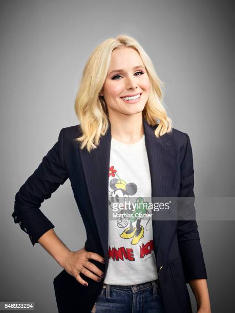 Actress Kristen Bell from 'The Good Place' is photographed for Entertainment Weekly Magazine on July 21 2016 at Comic Con in the Hard Rock Hotel in...