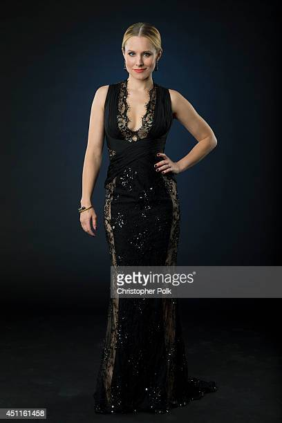 Actress Kristen Bell is photographed at the CMT Music Awards - Wonderwall portrait studio on June 4, 2014 in Nashville, Tennessee.