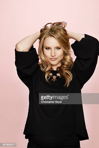 Actress Kristen Bell is photographed at the Sundance Film Festival for Entertainment Weekly Magazine on January 21 2013 in Park City Utah