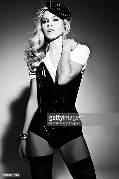 Actress Kristen Bell is photographed for Flaunt Magazine on November 18 2011 in Los Angeles California