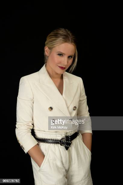 Actress Kristen Bell is photographed for Los Angeles Times on April 7 2018 in Los Angeles California PUBLISHED IMAGE CREDIT MUST READ Kirk McKoy/Los...