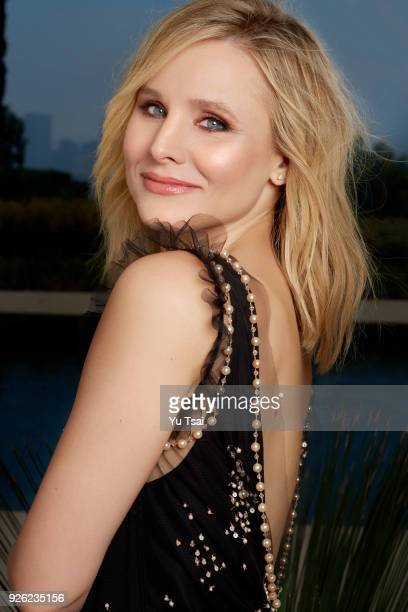 Actress Kristen Bell is photographed for Redbook Magazine on July 22 2017 in Beverly Hills California PUBLISHED IMAGE