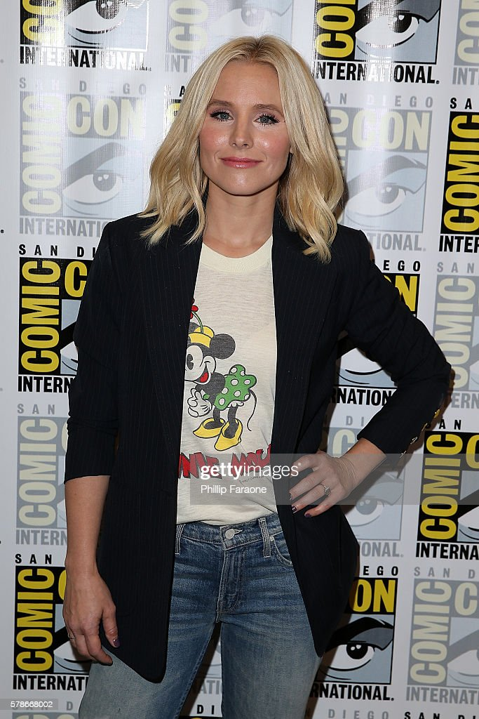 Actress Kristen Bell of NBC's 'The Good Place' attends Comic-Con International 2016 on July 21, 2016 in San Diego, California.