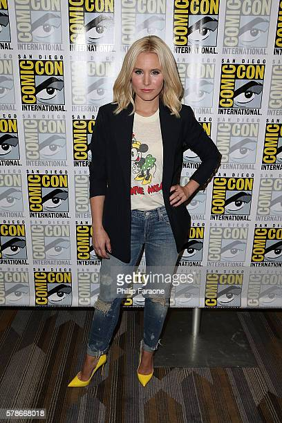 Actress Kristen Bell of NBC's 'The Good Place' attends ComicCon International 2016 on July 21 2016 in San Diego California