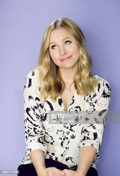 Actress Kristen Bell poses for a portrait at the 2013 D23 Expo on August 6, 2013 in Las Vegas, Nevada.