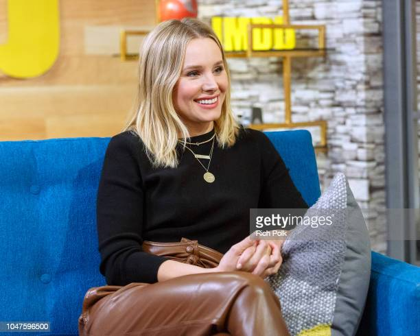 Actress Kristen Bell visits 'The IMDb Show' on September 12, 2018 in Studio City, California. This episode of 'The IMDb Show' airs on October 11,...