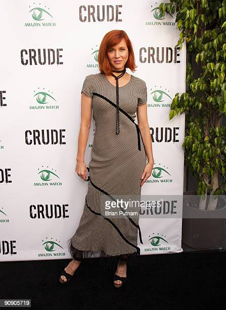Actress Kristen Dalton arrives for the screening of the film 'CRUDE' at Harmony Gold Theatre on September 17 2009 in Los Angeles California