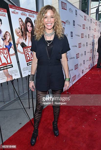 Actress Kristen Dalton arrives to the premiere of Mad Chance's Behaving Badly at the ArcLight Hollywood on July 29 2014 in Hollywood California