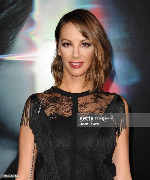 Actress Kristen Doute attends the premiere of 'Flatliners' at The Theatre at Ace Hotel on September 27 2017 in Los Angeles California