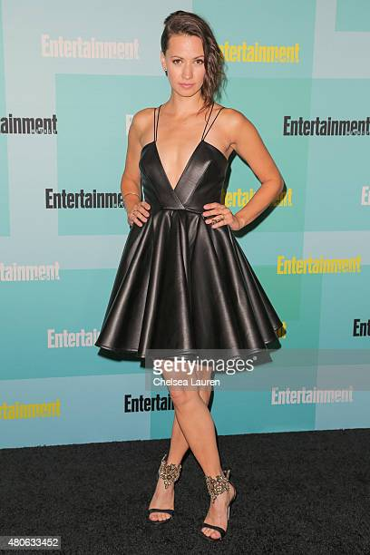 Actress Kristen Gutoskie arrives at the Entertainment Weekly celebration at Float at Hard Rock Hotel San Diego on July 11 2015 in San Diego California