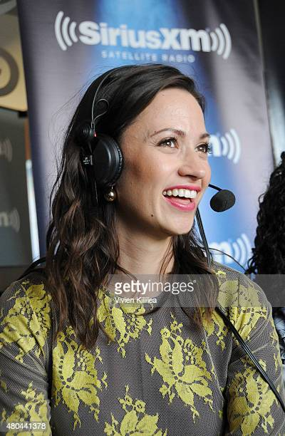 Actress Kristen Gutoskie attends SiriusXM's Entertainment Weekly Radio Channel Broadcasts From ComicCon 2015 at Hard Rock Hotel San Diego on July 11...