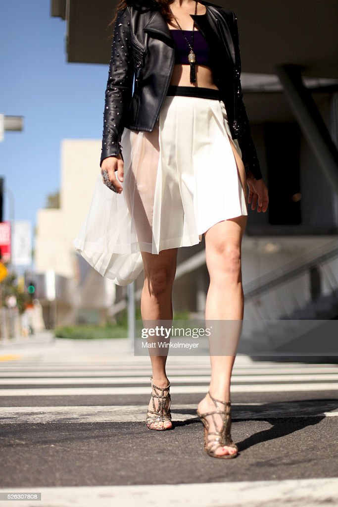 Behind The Scenes Shoot With Kristen Gutoskie For LaPalme Magazine : News Photo