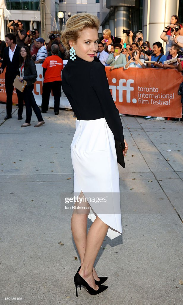 """""""""""The Right Kind Of Wrong"""""""" Premiere - Arrivals - 2013 Toronto International Film Festival"""