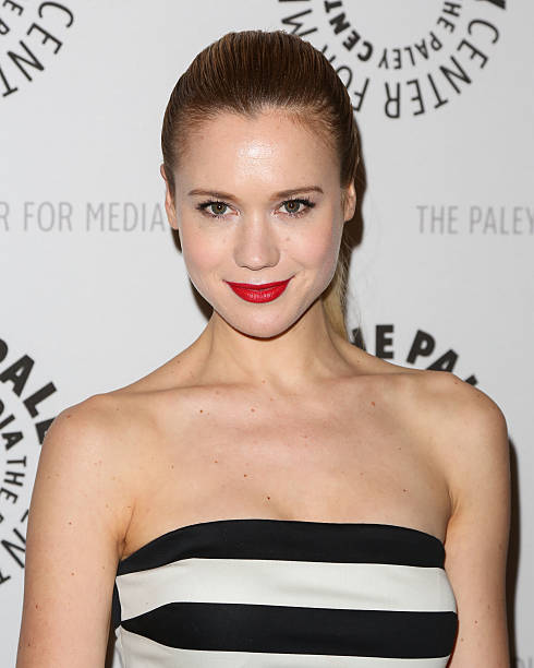 769b8e17aa8 Actress Kristen Hager attends the premiere screening and panel discussion  of Syfy s  Being Human