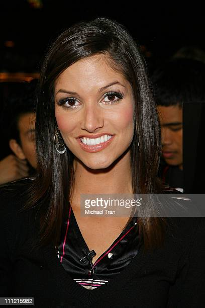 Actress Kristen Holt attends Halo 3 Midnight Madness at Gamestop a videogame store on September 24 2007 at Universal Citywalk in North Hollywood...