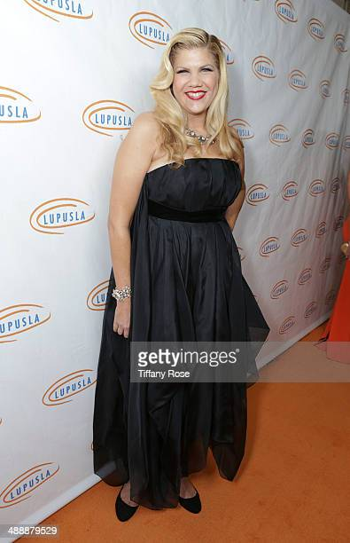Actress Kristen Johnston attends the Lupus LA Orange Ball on May 8 2014 in Beverly Hills California