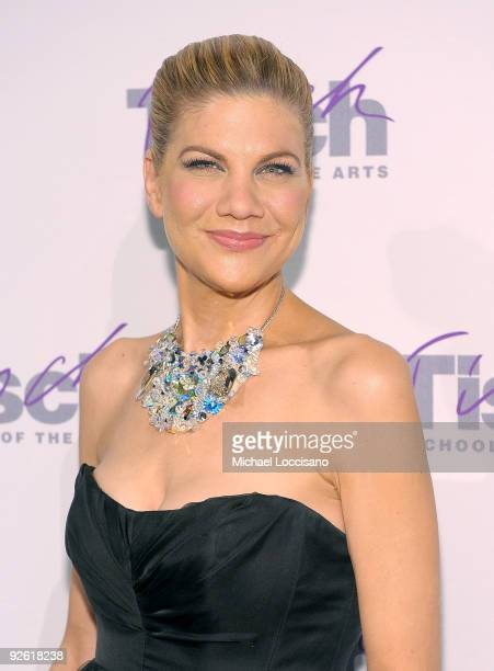 Actress Kristen Johnston attends the This Is Tisch Gala Benefit at the Frederick P Rose Hall Jazz at Lincoln Center on November 2 2009 in New York...