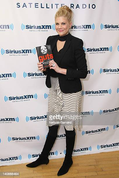 Actress Kristen Johnston visits SiriusXM Studio on March 7 2012 in New York City