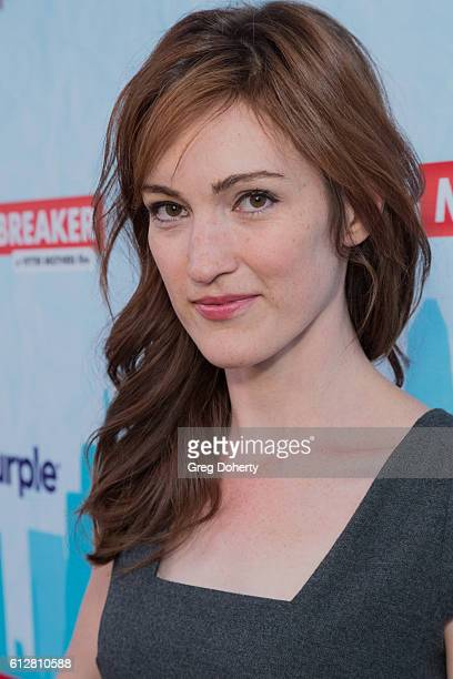 """Actress Kristen Rakes arrives for the Red Carpet Premiere Of Stadium Media's """"The Matchbreaker"""" at the ArcLight Cinemas Cinerama Dome on October 4,..."""