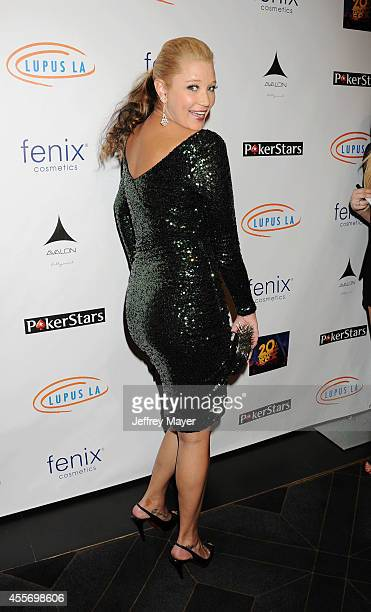 Actress Kristen Renton attends the Stars Get Lucky For Lupus 6th Annual Poker Tournament at Avalon on September 18 2014 in Hollywood California