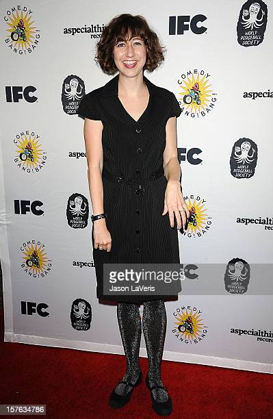 Actress Kristen Schaal attends IFC's 2012 Comedy Bang Bang Nativity Pageant Holiday Comedy Show benefiting the LA Regional Food Bank at The Ricardo...