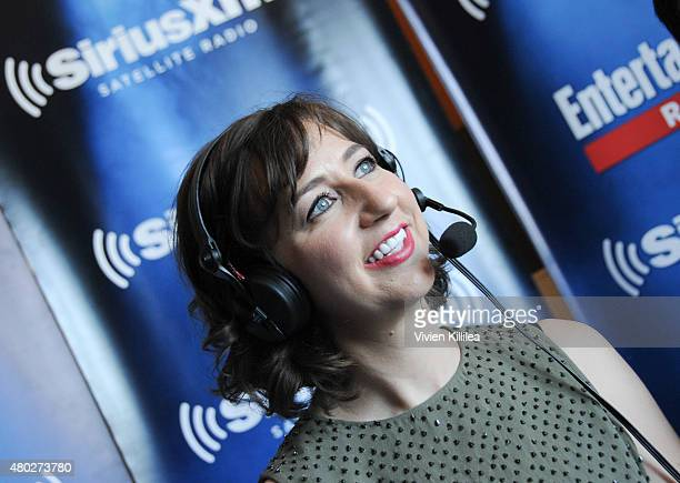 Actress Kristen Schaal attends SiriusXM's Entertainment Weekly Radio Channel Broadcasts From ComicCon 2015 at Hard Rock Hotel San Diego on July 10...