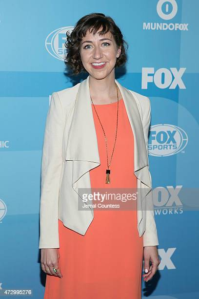 Actress Kristen Schaal attends the 2015 FOX programming presentation at Wollman Rink in Central Park on May 11 2015 in New York City