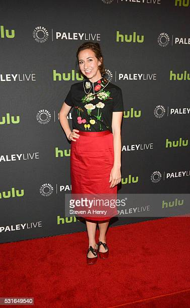 """Actress Kristen Schaal attends The Paley Center For Media Presents PaleyLive NY: """"The Last Man On Earth"""" at The Paley Center for Media on May 15,..."""