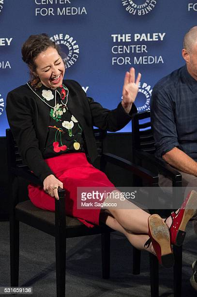 Actress Kristen Schaal attends The Paley Center For Media Presents PaleyLive NY The Last Man On Earth at The Paley Center for Media on May 15 2016 in...
