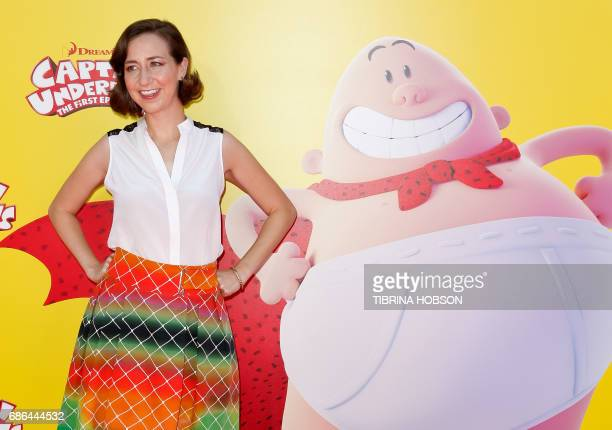 Actress Kristen Schaal attends the premiere of 20th Century Fox's 'Captain Underpants The First Epic Movie' at the Regency Village Theatre in Los...
