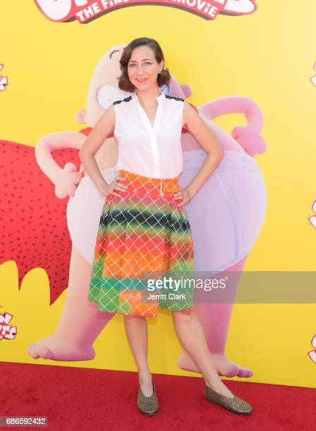 Actress Kristen Schaal attends the Premiere Of 20th Century Fox's 'Captain Underpants The First Epic Movie' at Regency Village Theatre on May 21 2017...