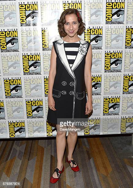 "Actress Kristen Schaal attends the ""The Last Man On Earth"" press line during Comic-Con International on July 23, 2016 in San Diego, California."
