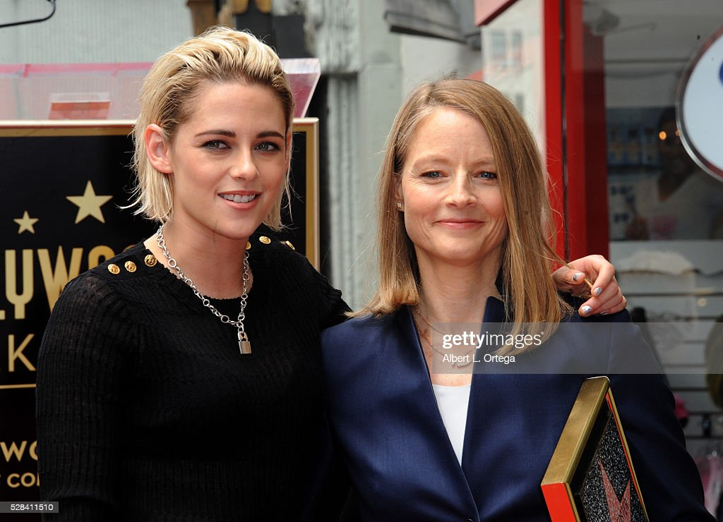 Jodie Foster Honored With Star On The Hollywood Walk Of Fame : News Photo