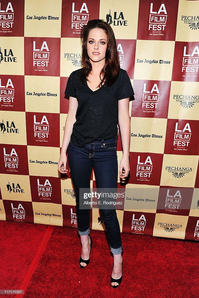 "2011 Los Angeles Film Festival - ""A Better Life"" World Premiere Gala Screening - Arrivals : News Photo"