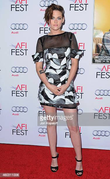 """Actress Kristen Stewart arrives at AFI FEST 2014 Presented By Audi """"Still Alice"""" Premiere at Dolby Theatre on November 12, 2014 in Hollywood,..."""