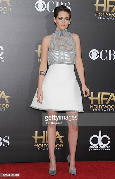 Actress Kristen Stewart arrives at the 18th Annual Hollywood Film Awards at Hollywood Palladium on November 14 2014 in Hollywood California