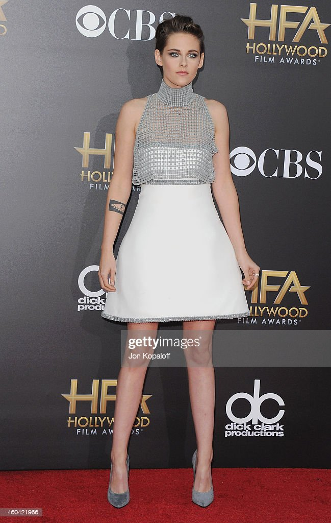 Actress Kristen Stewart arrives at the 18th Annual Hollywood Film Awards at Hollywood Palladium on November 14, 2014 in Hollywood, California.