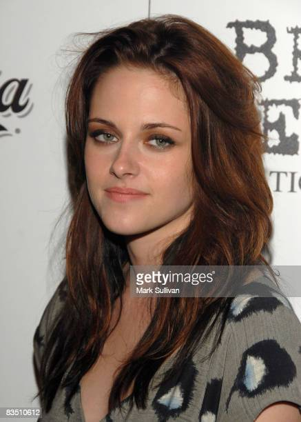 Actress Kristen Stewart arrives at the Video Music Awards In Touch After Party on September 7 2008 in Los Angeles California