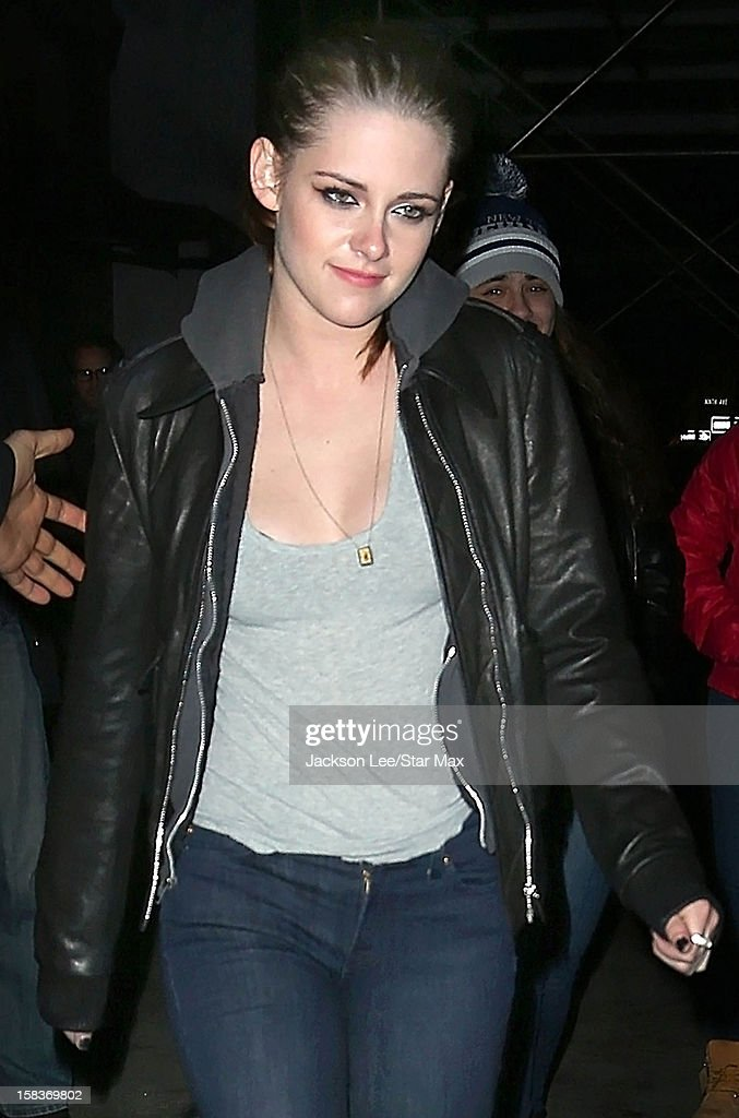 Actress Kristen Stewart as seen on December 13, 2012 in New York City.