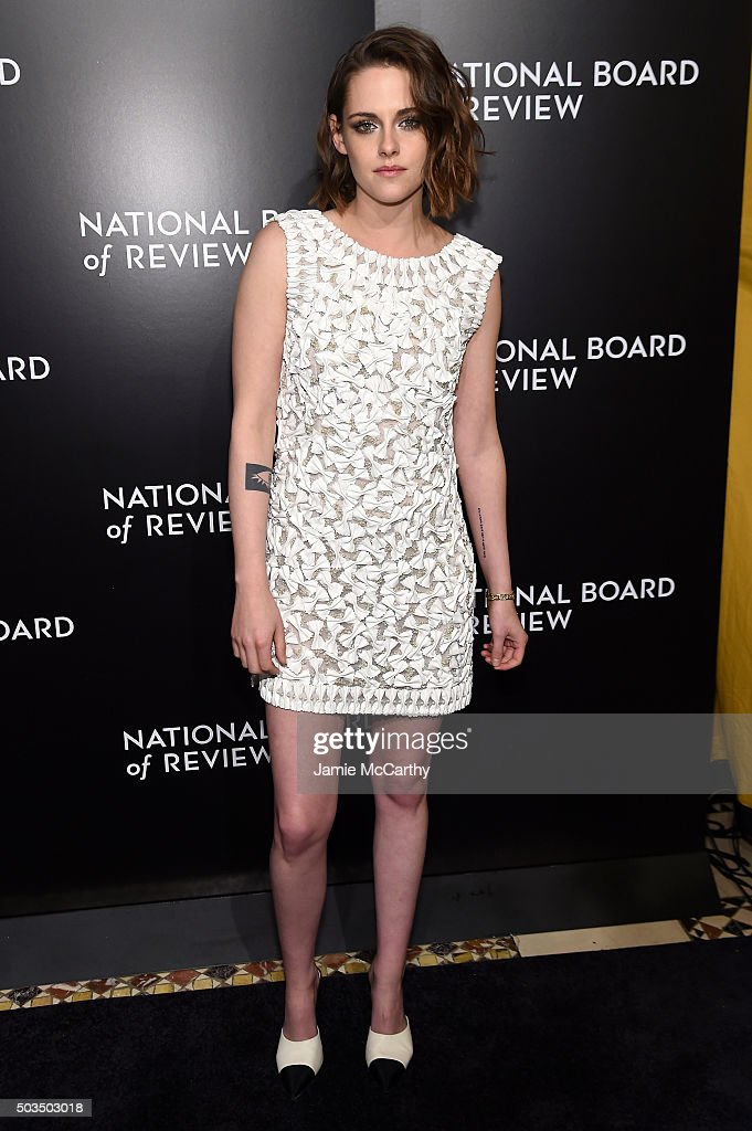 Actress Kristen Stewart attends 2015 National Board of Review Gala at Cipriani 42nd Street on January 5, 2016 in New York City.