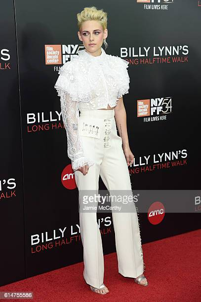 Actress Kristen Stewart attends Billy Lynn's Long Halftime Walk during 54th New York Film Festival at AMC Lincoln Square Theater on October 14 2016...