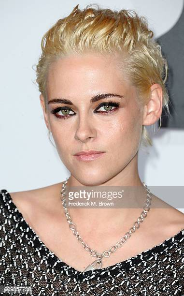 Actress Kristen Stewart attends Chanel Dinner Celebrating N 5 L'Eau at the Sunset Tower Hotel on September 22 2016 in West Hollywood California