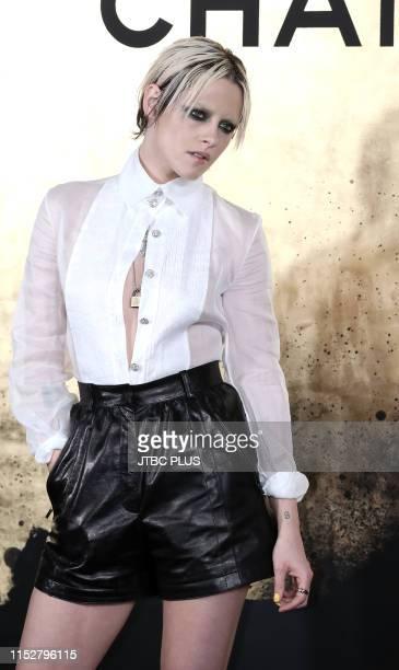 Actress Kristen Stewart attends CHANEL ParisNew York 2018'19 Metiers d'Art show on May 28 2019 in Seoul South Korea