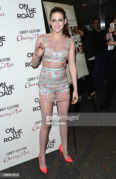 Actress Kristen Stewart attends On The Road New York Premiere at SVA Theater on December 13 2012 in New York City