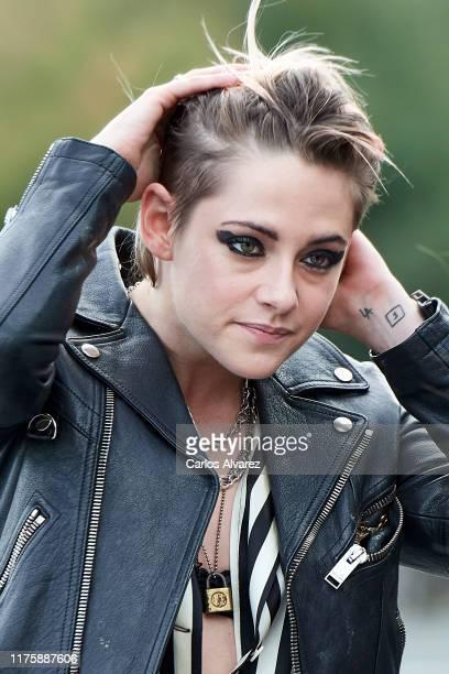 Actress Kristen Stewart attends 'Seberg' photocall during 67th San Sebastian International Film Festival on September 20, 2019 in San Sebastian,...