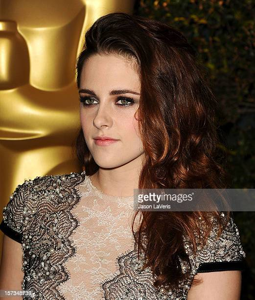 Actress Kristen Stewart attends the Academy of Motion Pictures Arts and Sciences' 4th annual Governors Awards at The Ray Dolby Ballroom at Hollywood...