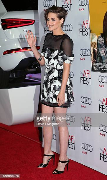 Actress Kristen Stewart attends the AFI FEST 2014 presented by Audi special screening of 'Still Alice' at the Dolby Theatre on November 12 2014 in...